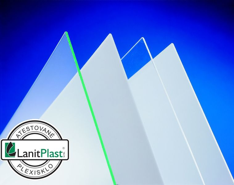 LanitPlast Plexisklo 4 mm čiré 1,025x1,525 m