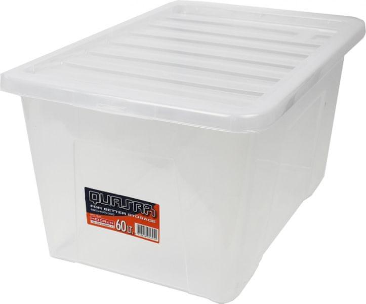 Heidrun Box Quasar 60 l, transparentní
