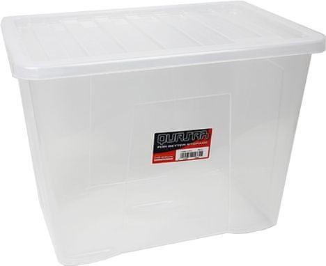 Heidrun Box Quasar 80 l, transparentní