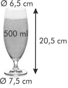 Tescoma Sklenice na pivo CREMA 500 ml, 6 ks