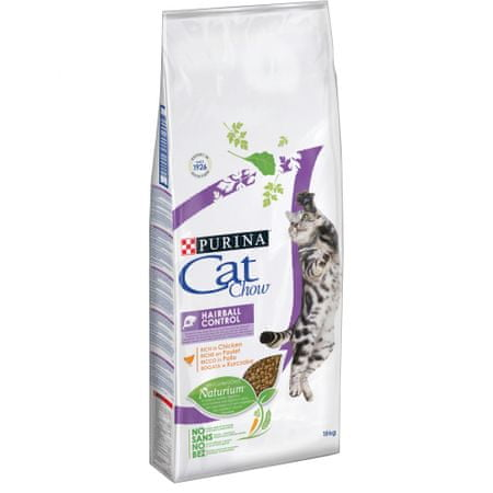 Purina Cat Chow sucha karma dla kota Special Care Hairball Care - 15 kg