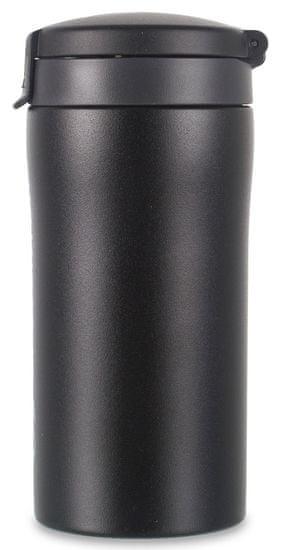 Lifeventure Kubek termiczny Flip-Top Thermal Mug black