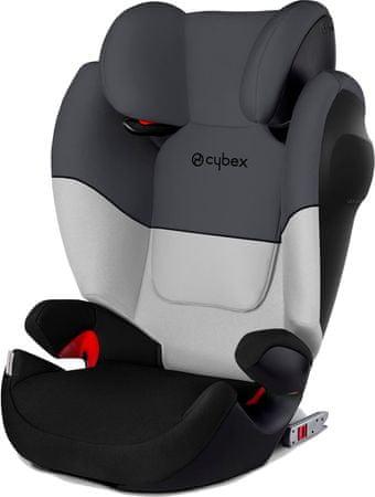 CYBEX fotelik samochodowy Solution M-Fix SILVER, Gray Rabbit