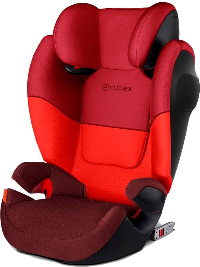 Cybex Solution M-Fix SL 2018 Rumba Red