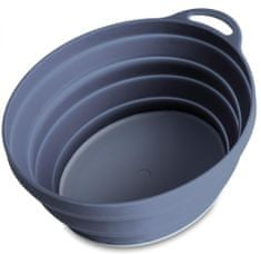 Lifeventure Silicon Ellipse Bowl graphite