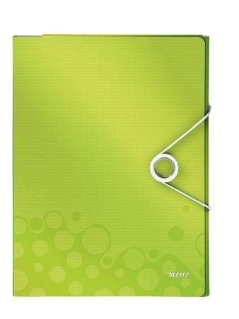 Organizér na dokumenty Leitz WOW metalicky zelený