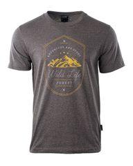 Hi-Tec kratka majica Wilde, svetlo rjava