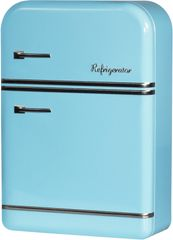 TimeLife Pudełko do przechowywania lodówka 25 cm, niebieskie