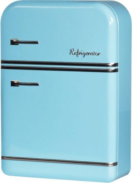 Time Life Úložná krabička lednice 25 cm, modrá