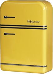 TimeLife Pudełko do przechowywania lodówka 25 cm, żółte