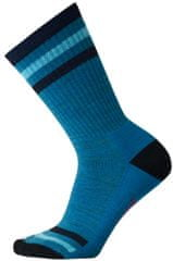 SMARTWOOL skarpetki W Striped Hike Light Crew Blue