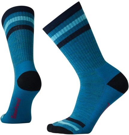 SmartWool W Striped Hike Light Crew Glacial Blue S  6ce0655d30