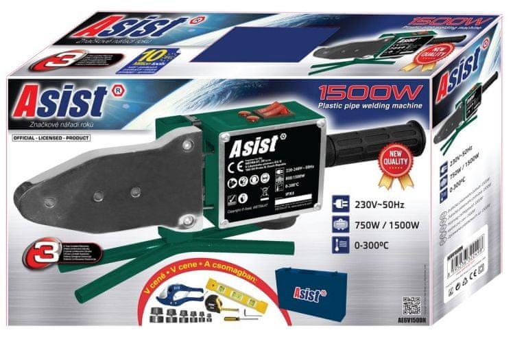 Asist AE6V150DN svářečka plastových trubek 1500 W