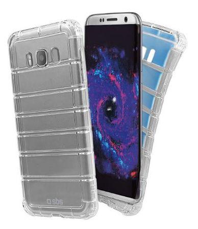 SBS ovitek proti udarcem za Samsung Galaxy S8, prozoren
