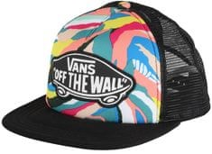 Vans Beach Girl Trucker Hat Abstract Horizon