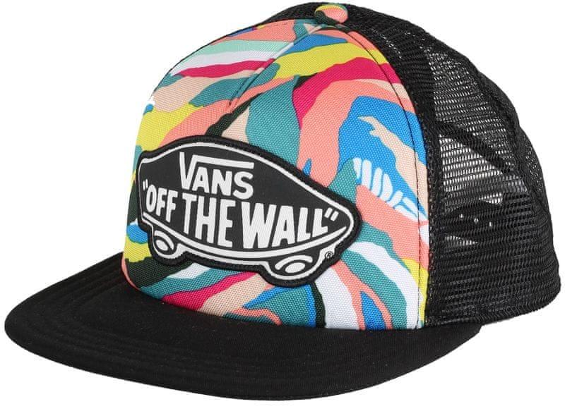 Vans Beach Girl Trucker Hat Abstract Horizon
