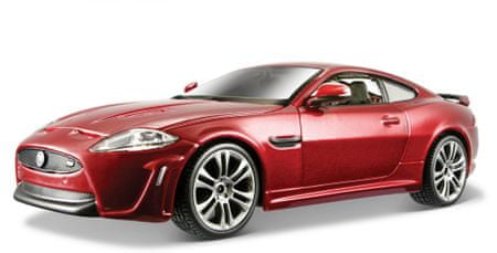 BBurago PLUS Jaguar XKR-S (1:24) - czerwony