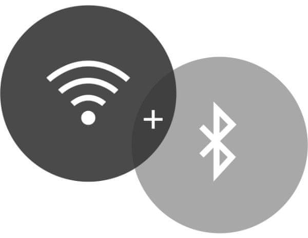 konektivita Bluetooth, Wi-Fi