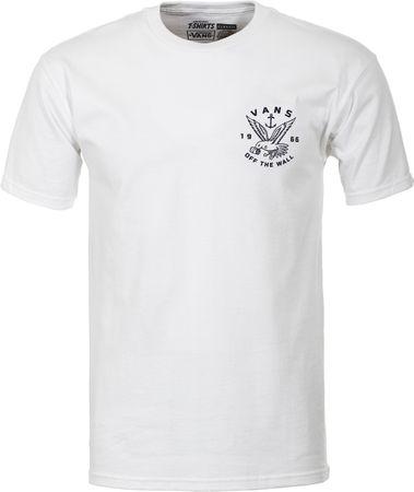 Vans moška majica Animal Control, bela, M