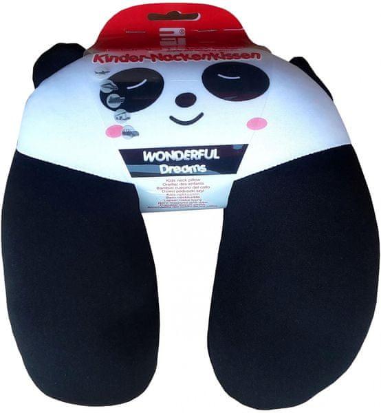 Dětský cestovní polštářek Panda