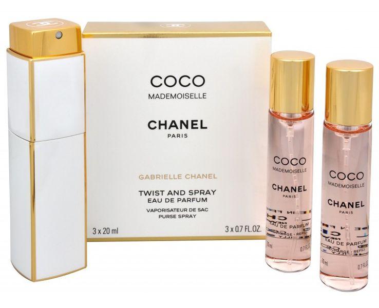Chanel Coco Mademoiselle - EDP (3 x 20 ml) 60 ml