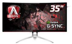 "AOC ukrivljen monitor AGON AG352Ucg IPS 88,9 cm (35"") MVA"