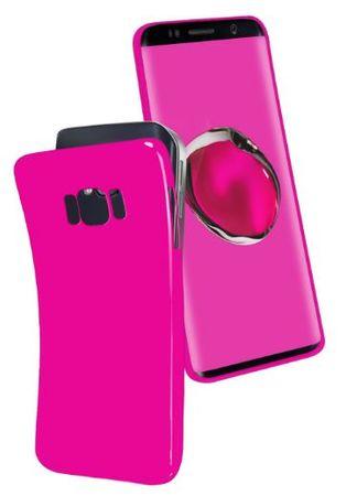 SBS silikonski ovitek za Samsung Galaxy S8 Plus, mat roza