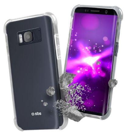 SBS ovitek AntiShock za Samsung Galaxy S8 Plus, prozoren