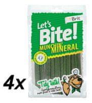 Brit Lets Bite Munchin´ Mineral 4x105 g