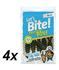 Brit Lets Bite Brushin´ Bone 4x90 g