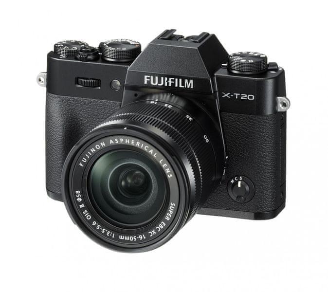 FujiFilm X-T20 + 16-50 Black