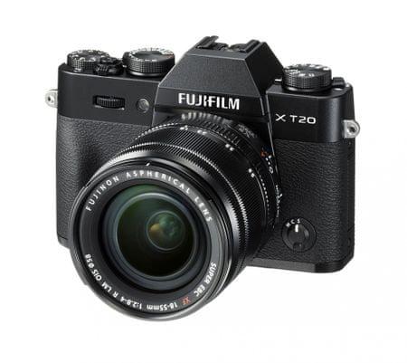 FujiFilm X-T20 + 18-55 Black