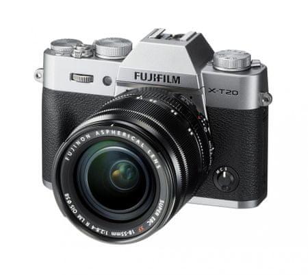 FujiFilm X-T20 + 18-55 Silver
