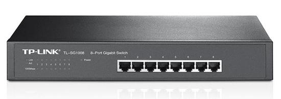 TP-Link Gigabit Desktop/Rackmount switch TL-SG1008 8-portni