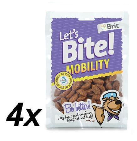 Brit Lets Bite Mobility 4x150 g