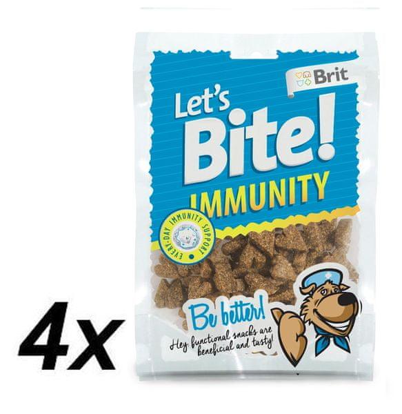 Brit Lets Bite Immunity 4x150 g