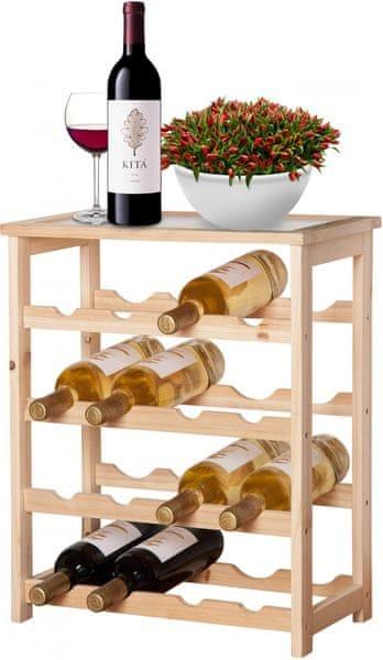 Time Life Držák na víno, 16 lahví