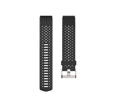 Fitbit Charge 2 Sport karpánt, L, Fekete
