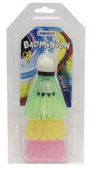 Unikatoy badminton žogice 3 kosi, BL.24747