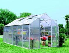 LanitPlast skleník LANITPLAST PLUGIN 8x14 strieborný