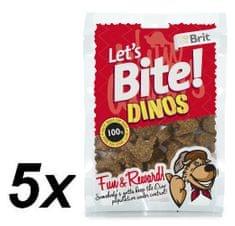 Brit Lets Bite Dinos 5x150 g