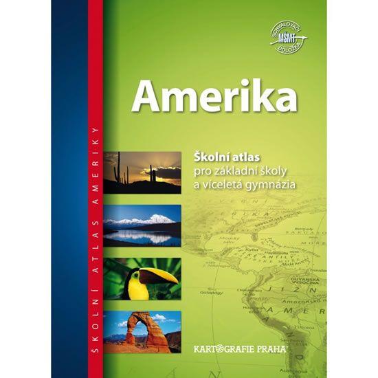 Školní atlas/Amerika, 2.vydání