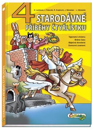 Lamková H., Poborák J., Krajčovič R., Ně: 4 starodávné příběhy Čtyřlístku