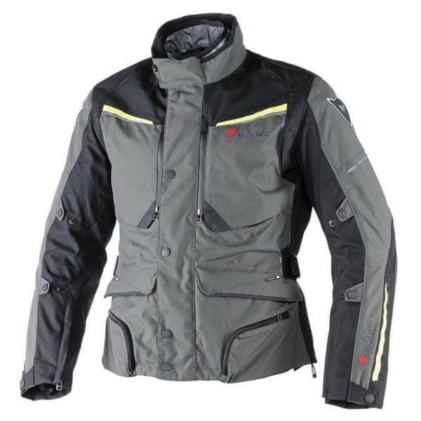 Dainese bunda SANDSTORM GORE-TEX vel.52 šedá/černá/fluo žlutá, textilní