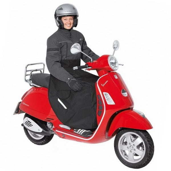 Held nepromokavá (zateplená) pláštěnka/deka na scooter, černá, textil