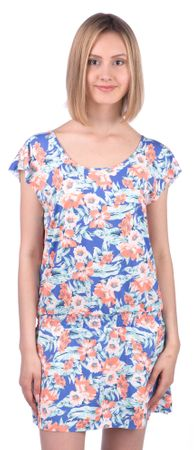 Rip Curl ženska obleka Mia Flores M modra