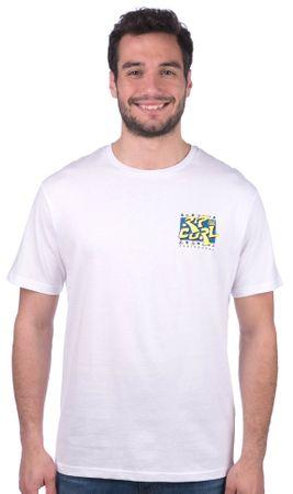 Rip Curl T-shirt męski Live Your Search L biały