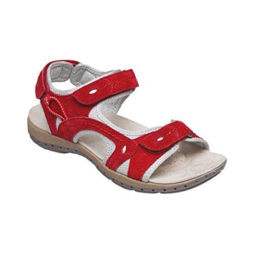 SANTÉ Zdravotní obuv dámská MDA/157-7 červená (Velikost vel. 41)