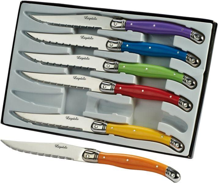 Kitchen Artist Sada 6 nožů laguiole L101
