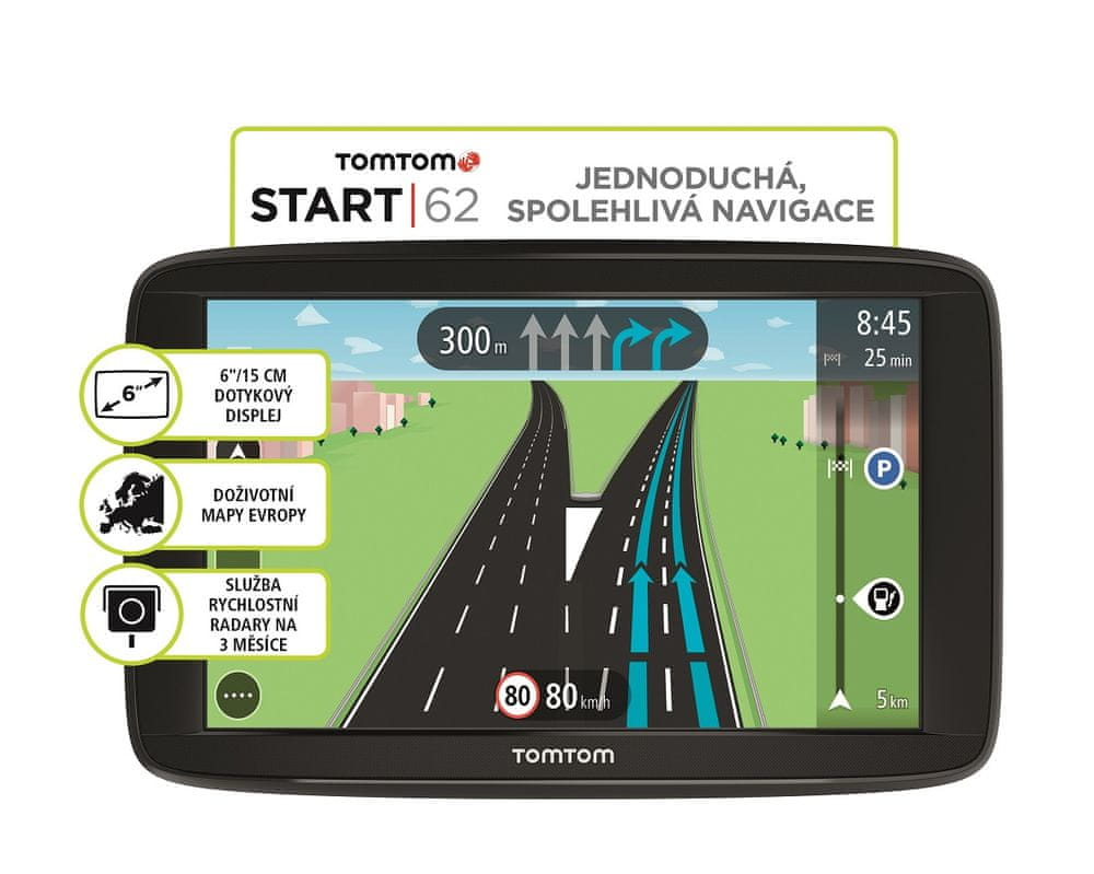 TomTom Start 62 EU Lifetime